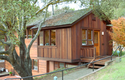 How Do I Paint My Weathered Redwood Home Like This