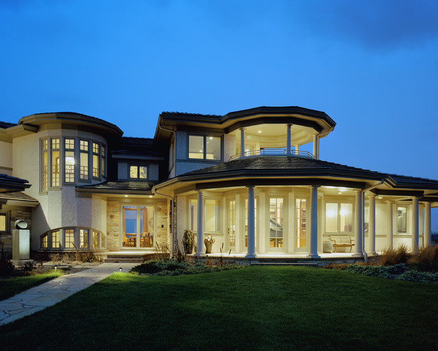 House 39 three 39 traditional exterior omaha by cramer for Exterior remodel and design omaha