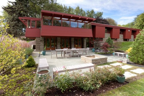 Houzz Tour: Remodel Brings Usonian Home Up To Date