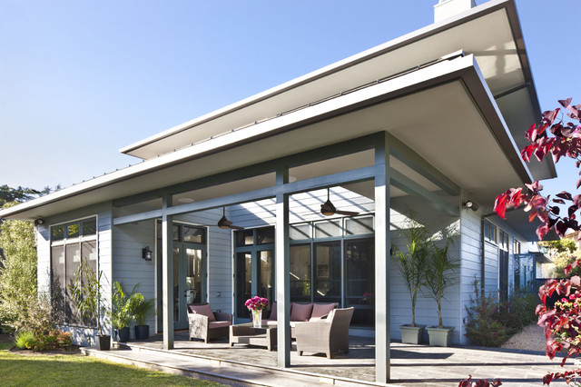 Hr solar contemporary exterior los angeles by lise for Accents salon chagrin falls