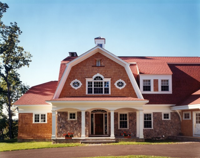 Hudson River Valley Home traditional-exterior