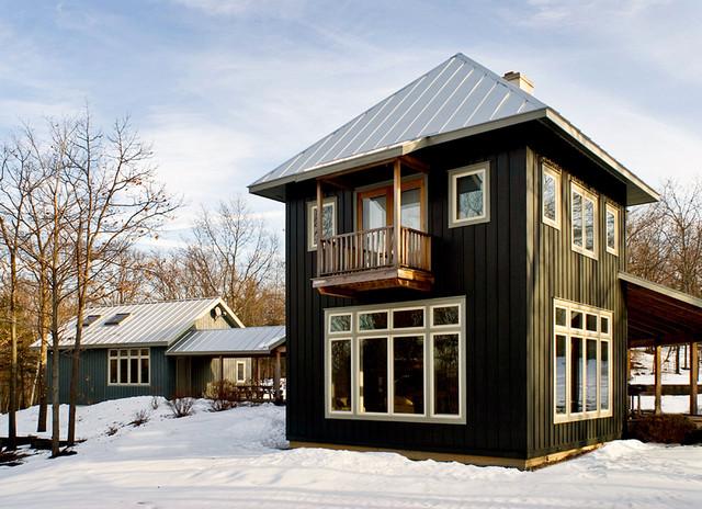 Hudson Valley Retreat rustic-exterior