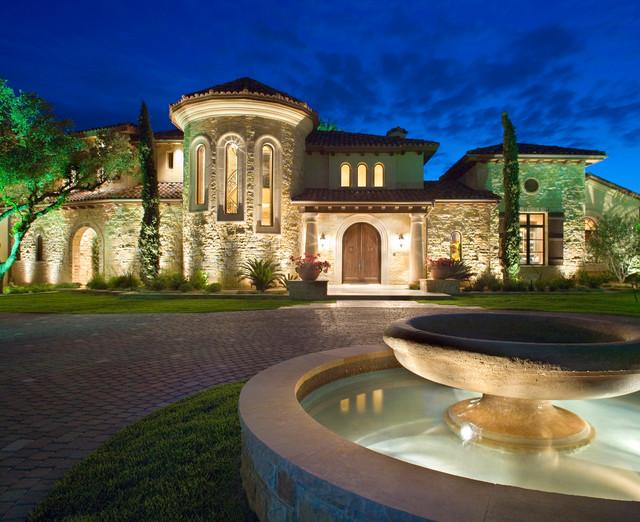 Hunterwood Tuscan Villa Mediterranean Exterior