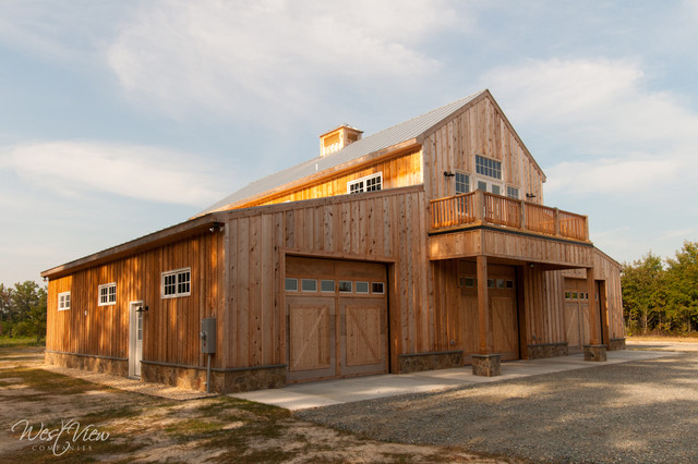 Hunting Lodge - Farmhouse - Exterior - richmond - by WestView Companies, Inc.