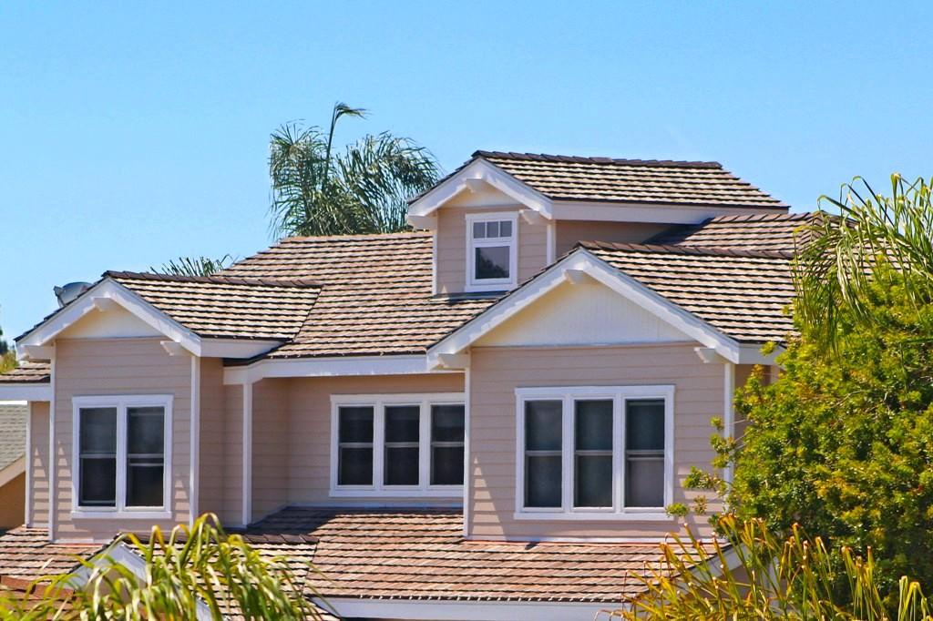 Lightweight Concrete roof