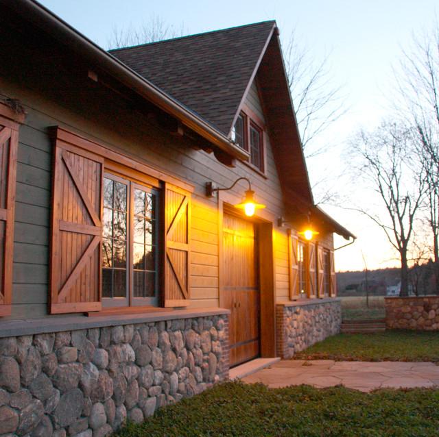 Hybrid barn for Architecture hybride