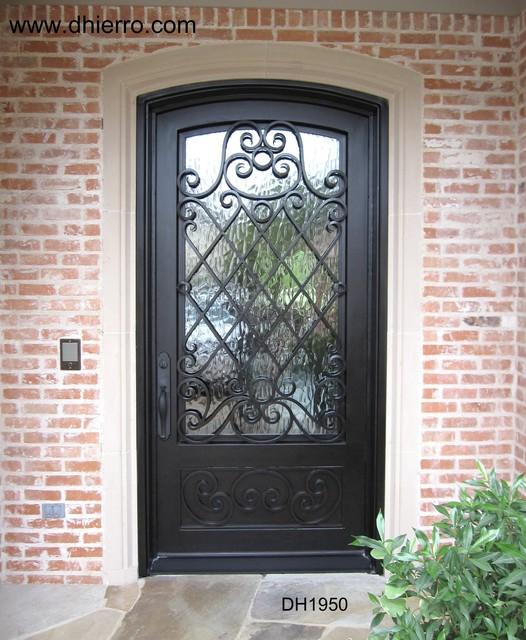 Iron Doors - Exterior eclectic-front-doors