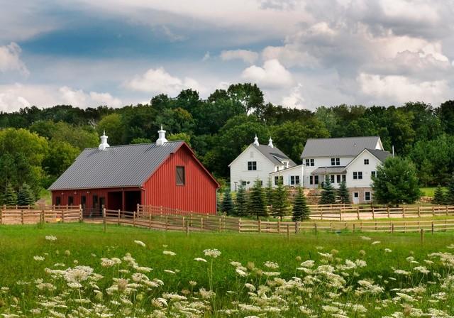 Idea Farm farmhouse-exterior