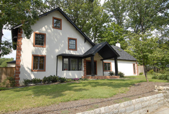 Image Painting Stucco Exterior - Traditional - Exterior - dc metro - by Image Painting
