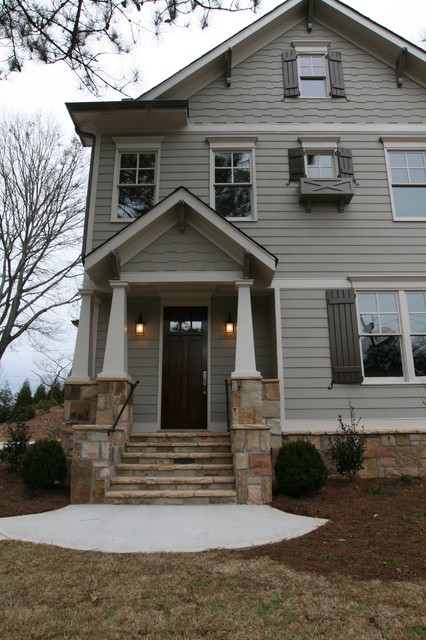 In town craftsman style home for Atlanta craftsman homes