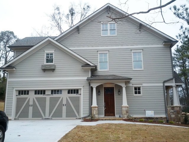 In Town Craftsman Style Home Exterior