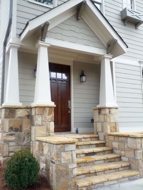 In-town Craftsman Style Home craftsman-exterior