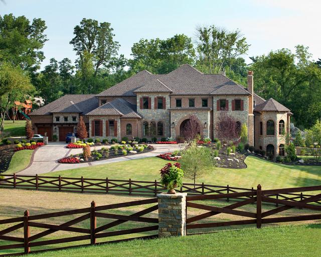 Indian Hill Ohio Traditional Exterior Cincinnati By W V De Stefano Homes Llc Houzz Au