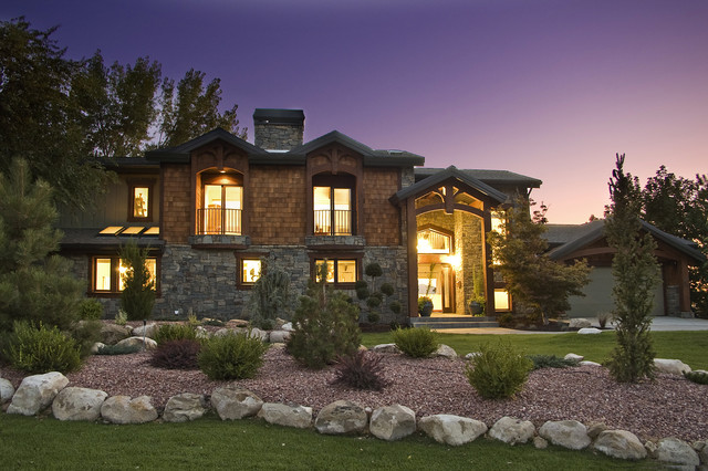 Indian Hills Salt Lake City Utah Rustic Exterior Salt Lake City By Monique Jacqueline
