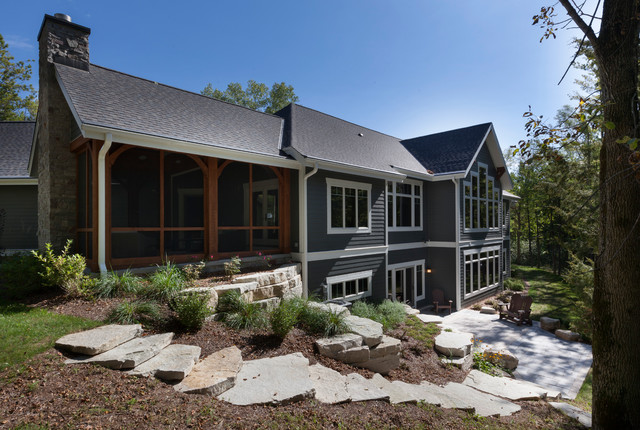 Indian Lore Residence Craftsman Exterior Milwaukee By Highland Builders Llc
