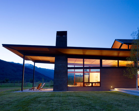 Modern Roof Line Home Design Ideas Pictures Remodel And