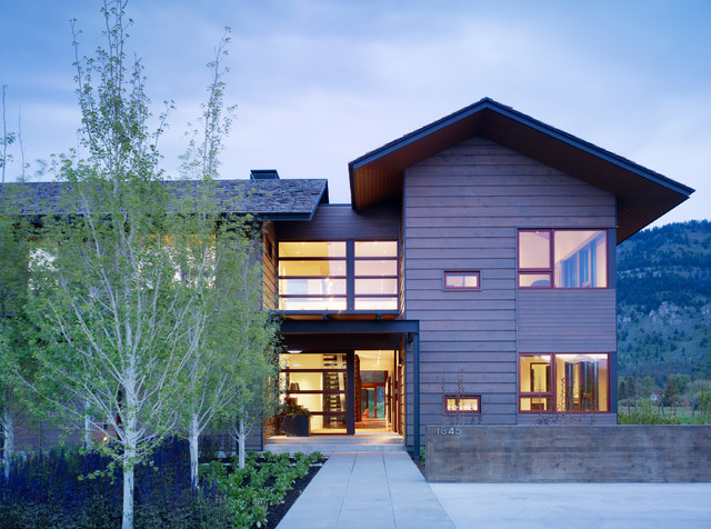 Indian Springs Ranch Residence modern-exterior