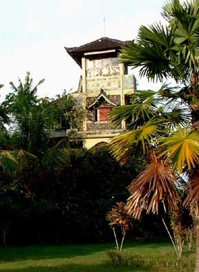 Indonesian Vacation Home tropical-exterior