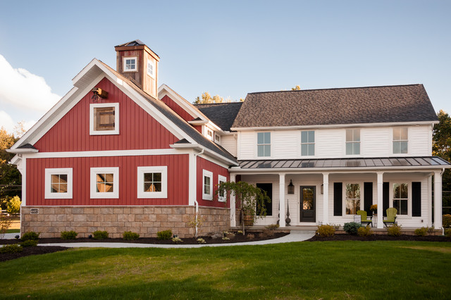 Industrial farmhouse for Industrial farmhouse exterior