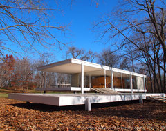 Influential Architecture ~ The Edith Farnsworth House modern-exterior
