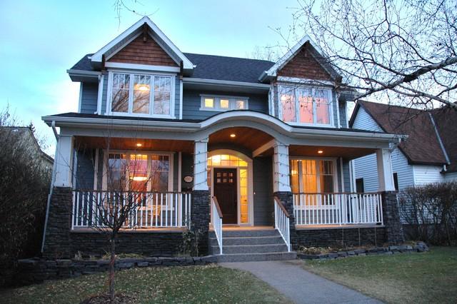 Inner City Craftsman traditional-exterior