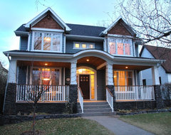 Inner City Craftsman traditional-exterior