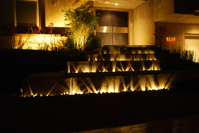 inspired led outdoor lighting entry exterior stair lighting exterior