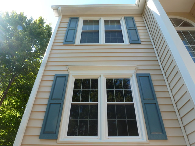 Insulated Prodigy Siding James Hardie Trim Vinyl Windows Gutters Traditional Exterior