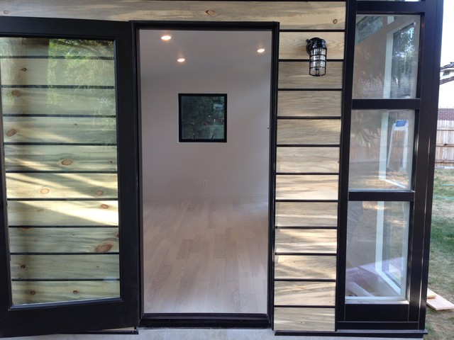 Interior Exterior Shot Of This Detached Home Office