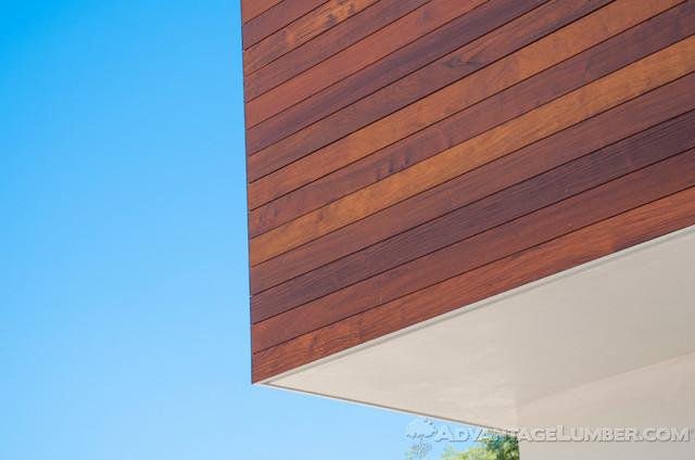 Ipe Shiplap Siding Encino Ca Contemporary Exterior