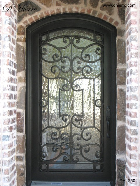 Iron Doors - Exterior - Traditional - Exterior - Dallas - by D ...
