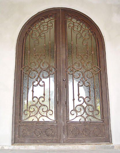 Iron Doors, Gates and Railing traditional