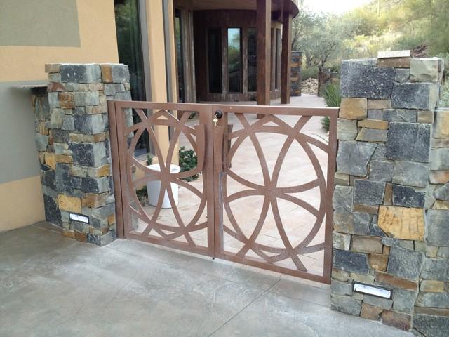 Iron Gates modern-exterior