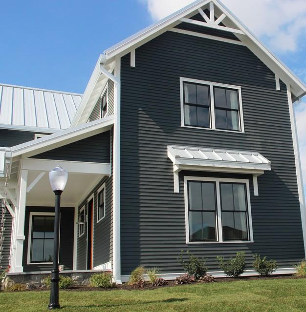 Iron Gray ColorPlus Iowa Farmhouse Reside Farmhouse Exterior Other By