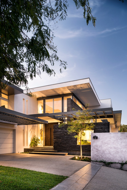 Irvine house contemporary exterior perth by dtda for Modern day house designs