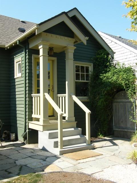 Irvington kitchen traditional-exterior