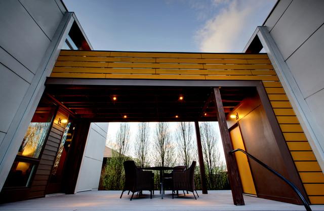 Irvington modern tudor modern exterior indianapolis by werk building modern - Modern werk ...