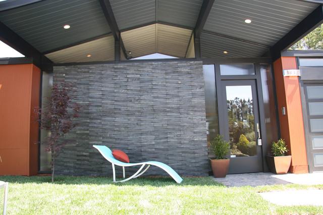 Island Stone Silver Quartzitic Slate VTile Exterior Wall Modern Exterior