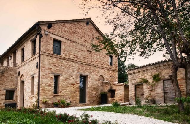 Italian Farmhouse Renovation - Farmhouse - Exterior - Other - By Architecture Joyce Owens Llc