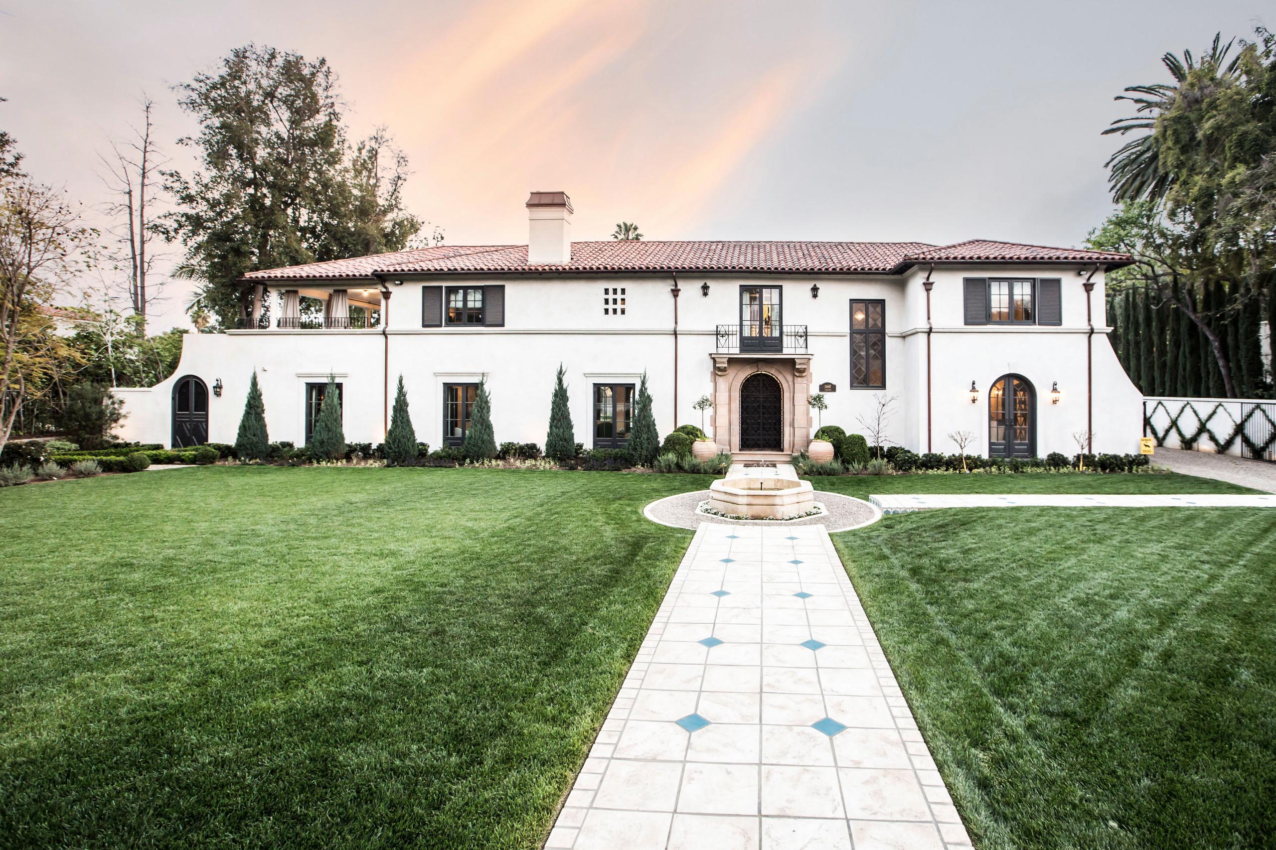 Italian Revival Residence in Pasadena