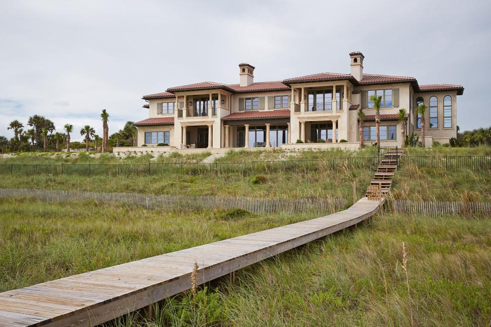 Italian Villa - Mediterranean - Exterior - Jacksonville ...