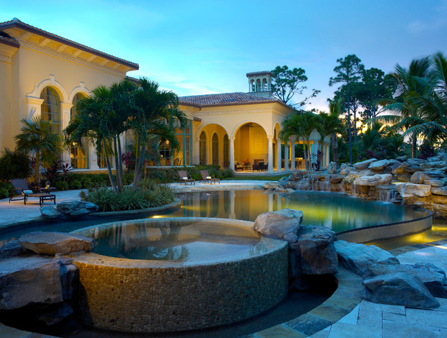 florida home remodeling style villa: