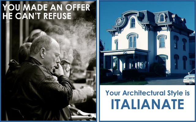 Italianate Style exterior