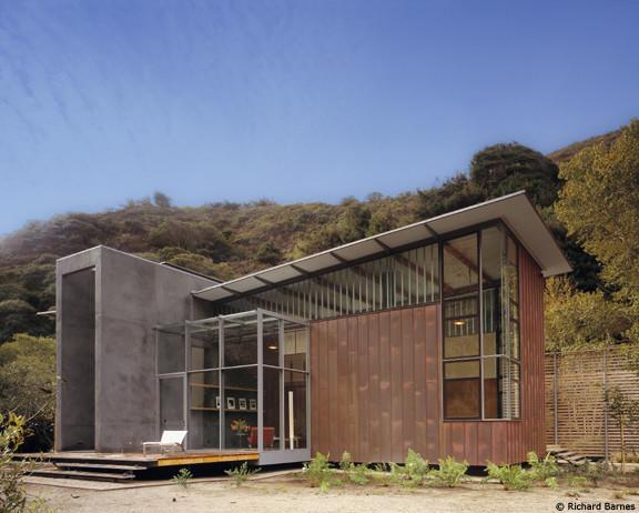 Jackson Family Retreat contemporary-exterior