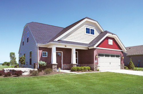 brick and siding color combinations