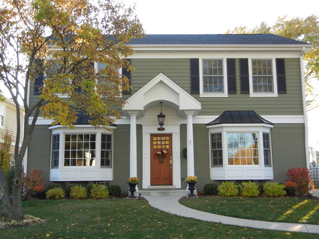 James Hardie Homes traditional-exterior