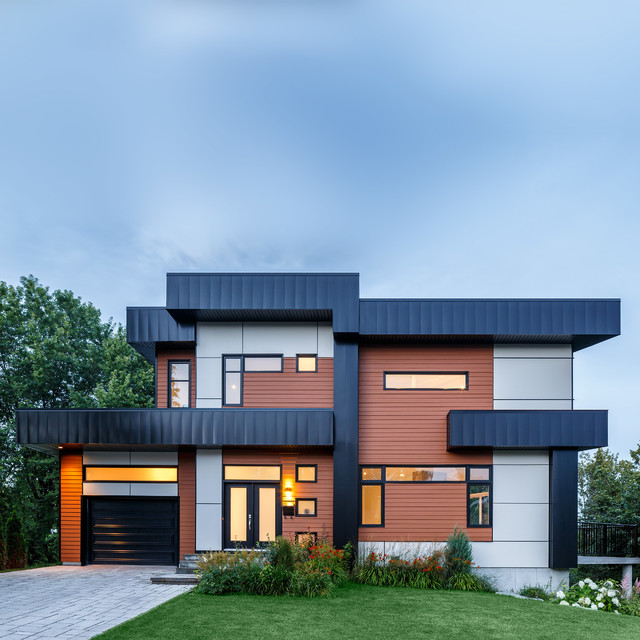 James Hardie - Contemporary - Exterior - Chicago - by James