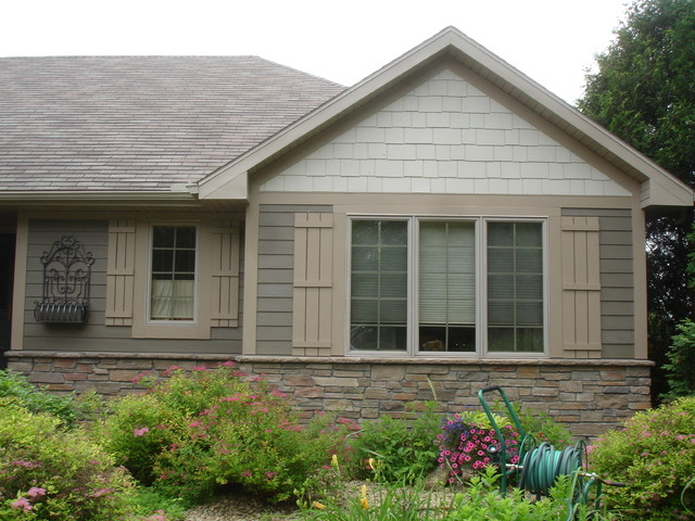 James Hardie Siding - Blaine - Traditional - Exterior - minneapolis - by Craftsman's Choice Inc.