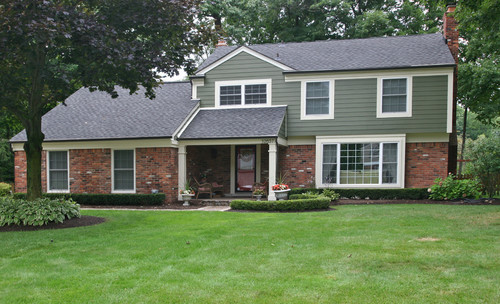 siding colors with brick