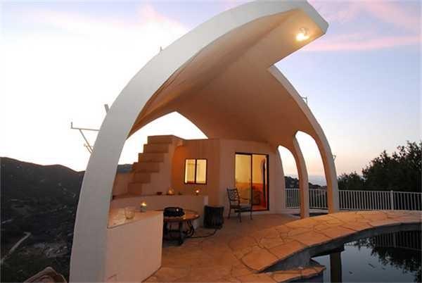 Jamul concrete house eclectic-exterior